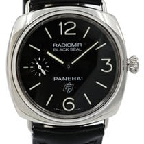 Panerai Radiomir Black Seal Acier 45mm Noir Arabes France, Lyon