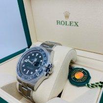 Rolex GMT-Master II 116710LN Nuovo Acciaio 40mm Automatico Italia, Scanno