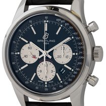 Breitling Transocean Chronograph Steel 43mm Black United States of America, Texas, Austin