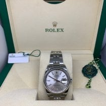 Rolex Datejust Steel 36mm Silver No numerals Singapore, Singapore