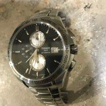 Tissot Veloci-T Steel 42mm Black No numerals