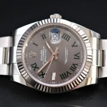 Rolex Datejust Steel 41mm Grey No numerals United Kingdom, Whitby- North Yorkshire
