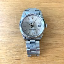 Rolex Oyster Perpetual Date Acero 34mm Plata Sin cifras España, Palma
