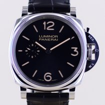 Panerai Luminor Due Acier 42mm Noir Arabes