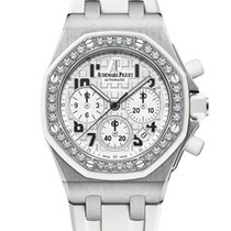 Audemars Piguet Royal Oak Offshore Lady Steel 37mm White Arabic numerals United Kingdom, London