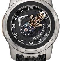雅典 Freak 2053-132/02 非常好 钛 45mm 手动上弦