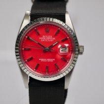 Rolex Datejust Stahl 36mm Rot Keine Ziffern Deutschland, Frankfurt