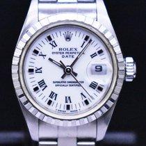 Rolex Oyster Perpetual Lady Date Acero 26mm Blanco España, Barcelona