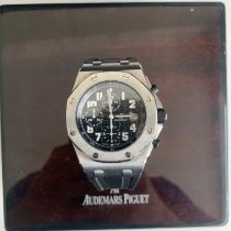 Audemars Piguet Royal Oak Offshore Chronograph Steel 42mm Black Arabic numerals United Kingdom, London