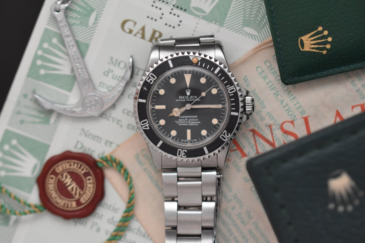 Rolex Submariner (No Date) 5512 1979 pre-owned