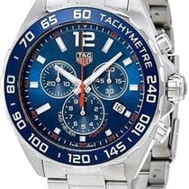 TAG Heuer Formula 1 Quartz Steel 43mm Blue Arabic numerals