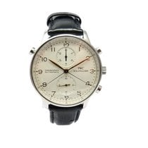 IWC IW3712 Steel 2001 Portuguese Chronograph 41mm pre-owned