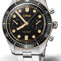 Oris Divers Sixty Five Steel 43mm Black