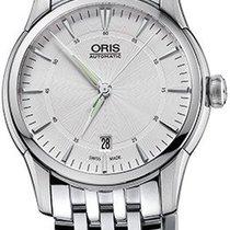 Oris 01 733 7670 4051-07 8 21 77 Steel 2021 Artelier Date 40mm new