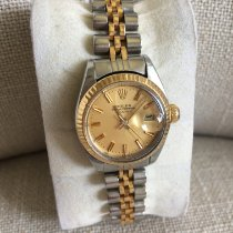 Rolex Lady-Datejust Or/Acier 26mm Champagne Sans chiffres France, CANNES