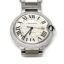Cartier W69012Z4 Steel Ballon Bleu 42mm 42mm pre-owned United States of America, Texas, Houston