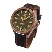 Vostok Bronze Automatic Brown 47mm new