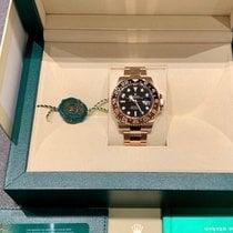 Rolex GMT-Master II Oro rosa 40mm Negro Sin cifras España, Barcelona