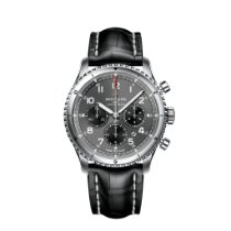 Breitling Aviator 8 Steel 43mm Black Arabic numerals United States of America, New York, New York