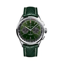 Breitling for Bentley Steel 42mm Green No numerals United States of America, New York, New York