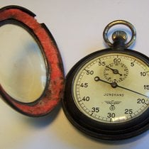 Junghans Uhr gebraucht 1938 Stahl Handaufzug Nur Uhr