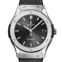 Hublot Classic Fusion Racing Grey Titanium 45mm Grey No numerals United States of America, New York, New York City