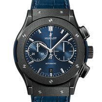 Hublot Classic Fusion Blue Ceramic 45mm Blue No numerals United States of America, New York, Forest Hills