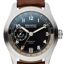 Bremont Silver 43mm Automatic H-4-HERCULES-SS-S new United States of America, New Jersey, River Edge