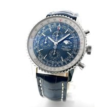 Breitling Navitimer 1461 Steel 46mm Blue No numerals