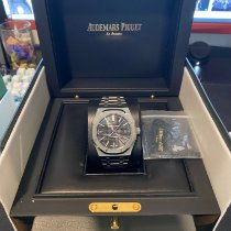 Audemars Piguet Royal Oak Selfwinding pre-owned 41mm Black Date Steel
