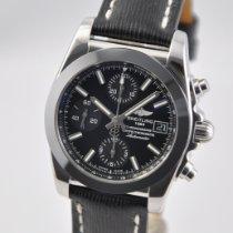 Breitling Chronomat 38 Acero 38mm Negro Sin cifras