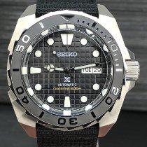 Seiko Prospex Steel 44mm Black No numerals United States of America, New York, Troy