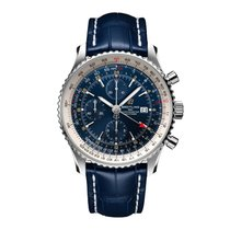 Breitling Navitimer GMT Steel 46mm Blue United States of America, Iowa, Des Moines