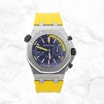 Audemars Piguet Royal Oak Offshore Diver Chronograph Acier 42mm Bleu Sans chiffres
