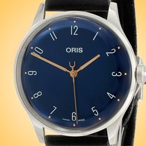 Oris 01 733 7762 4085-SET Steel 38mm new United States of America, Illinois, Northfield