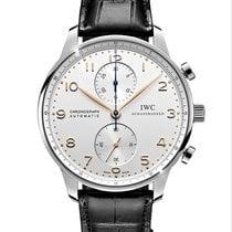 IWC Portuguese Chronograph Steel 41mm Silver Arabic numerals South Africa, Johannesburg