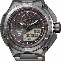 Citizen Titanium Black No numerals 51mm new Promaster Land