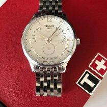 Tissot Tradition folosit 42mm Cronograf Afisaj zi Afisaj luna Otel