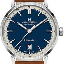 Hamilton Intra-Matic Steel 40mm Blue