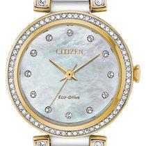 Citizen EM0844-58D Новые Сталь 28mm