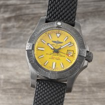 Breitling Avenger II Seawolf Steel 45mm Yellow