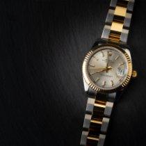Rolex Lady-Datejust Oro/Acciaio 31mm Grigio Senza numeri Italia, Cremona