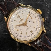 Eberhard & Co. Yellow gold Manual winding White Arabic numerals 40mm pre-owned Extra-Fort