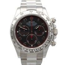 Rolex Daytona Or blanc 40mm Gris