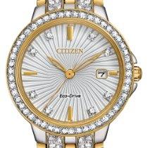 Citizen EW2344-57A Новые Сталь 28mm