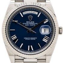 Rolex Day-Date 40 228239 Ongedragen Witgoud 40mm Automatisch