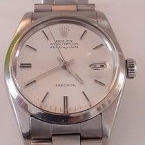 Rolex Air King Date Steel Silver
