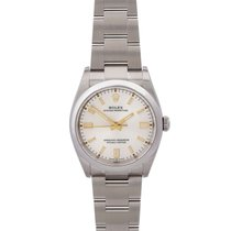 Rolex Oyster Perpetual 36 Acero 36mm Plata Sin cifras