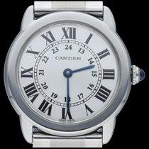 Cartier Ronde Solo de Cartier Acier 29mm Argent Romains