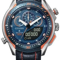 Citizen Promaster Land Steel 46mm Blue No numerals